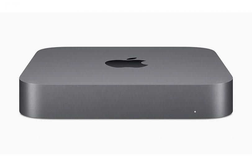 מבט קדמי Mac Mini (מקור אפל)