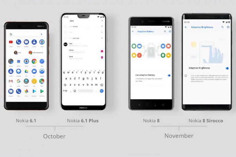 מפת העדכונים של נוקיה (תמונה: Nokia)