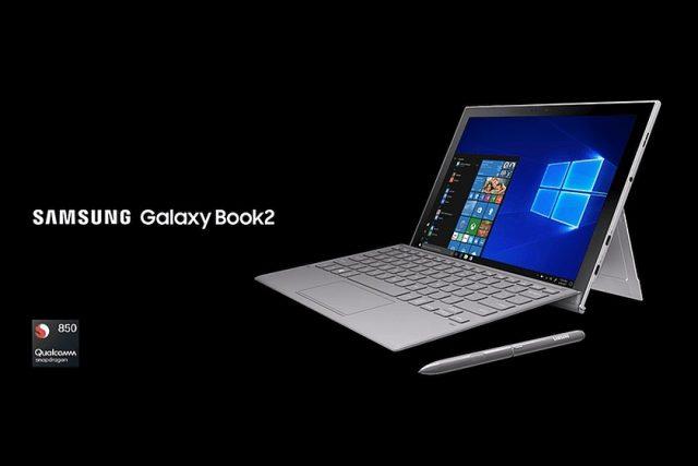 הוכרז: Samsung Galaxy Book 2 – עם Snapdragon 850 וחיי סוללה ארוכים