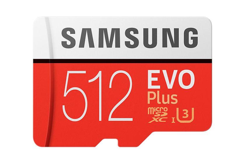 כרטיס זיכרון EVO Plus 512GB (מקור סמסונג)