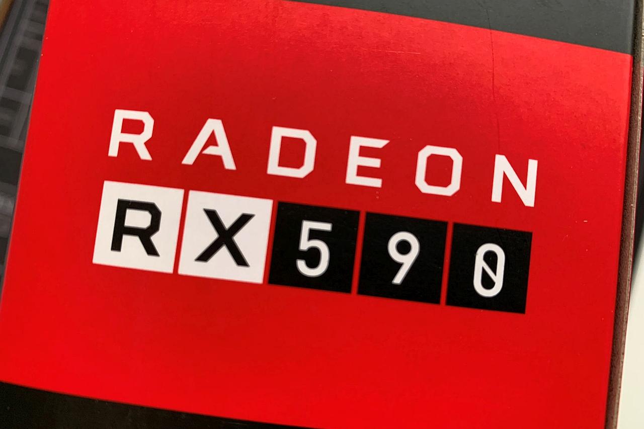 Radeon RX 590 (מקור videocardz)