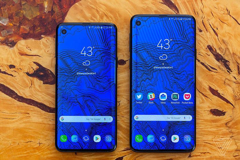 Samsung Galaxy S10 (אילוסטרציה: Venya Geskin)
