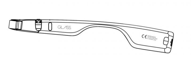 סקיצת צד למשקפי ה-Glass (מקור FCC)