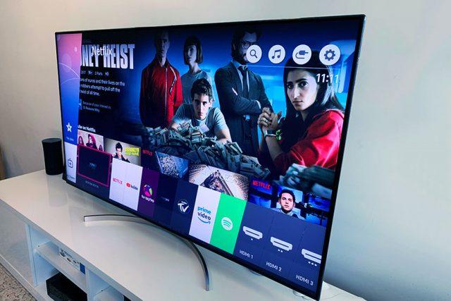 סקירה: LG SK9500Y – טלוויזיה חכמה בגודל 65 אינץ' עם איכות תמונה גבוהה