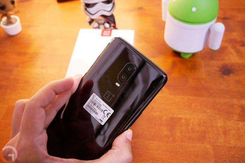 OnePlus 6T (צילום: אוהד צדוק, גאדג'טי)