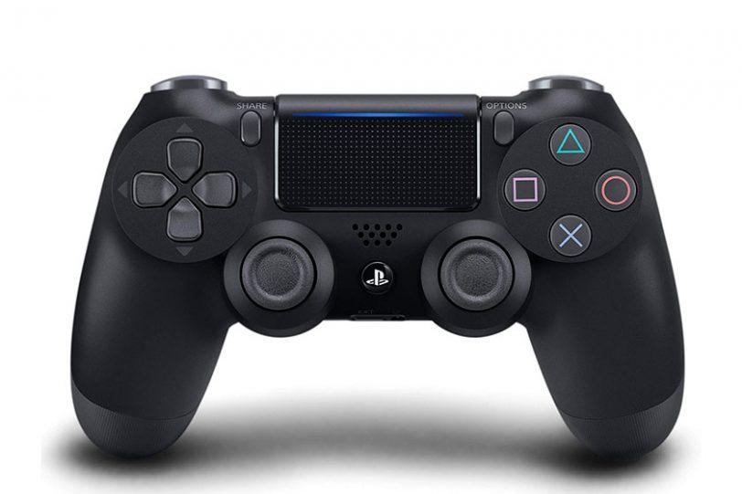 שלט אלחוטי ל-PS4 צבע שחור DualShock 4 Wireless