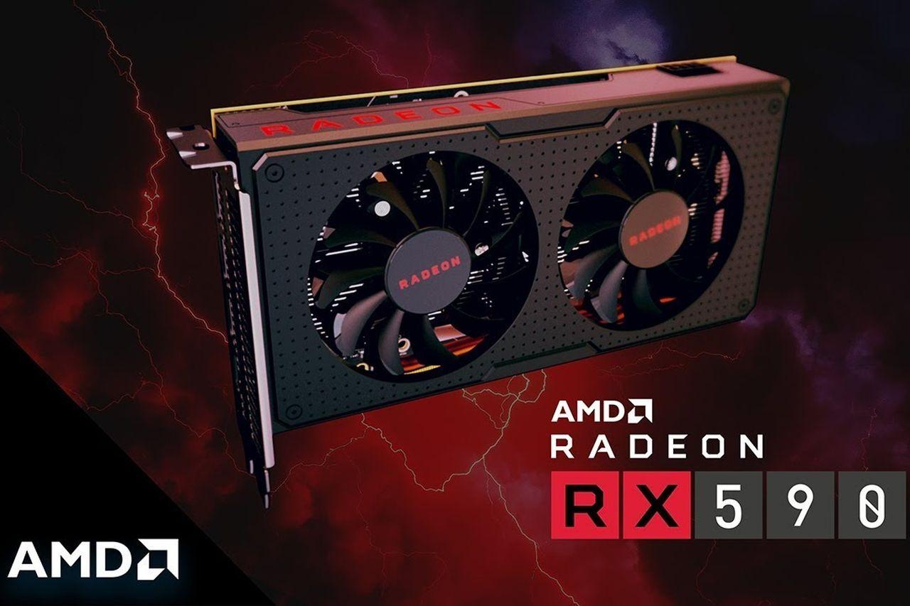 Radeon RX 590 (מקור AMD)