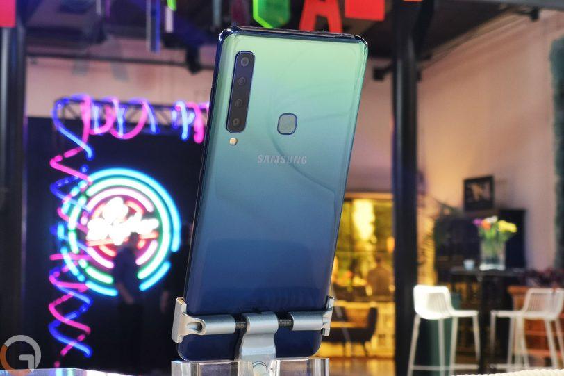 Samsung Galaxy A9 2018 (צילום: רונן מנדזיצקי, גאדג'טי)
