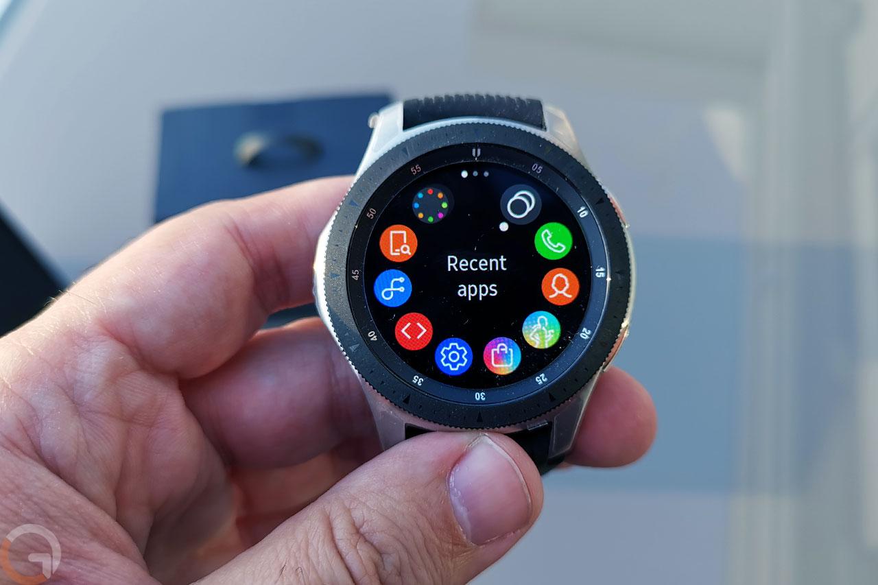 Samsung Galaxy Watch (צילום: רונן מנדזיצקי, גאדג'טי)