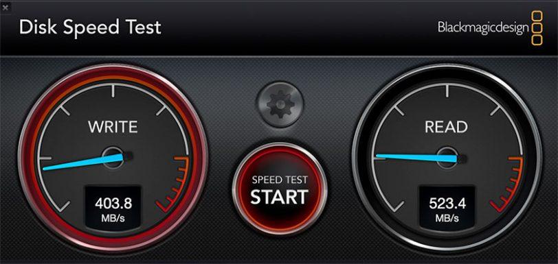 מבחן מהירות כונן SanDisk Extreme Portable SSD