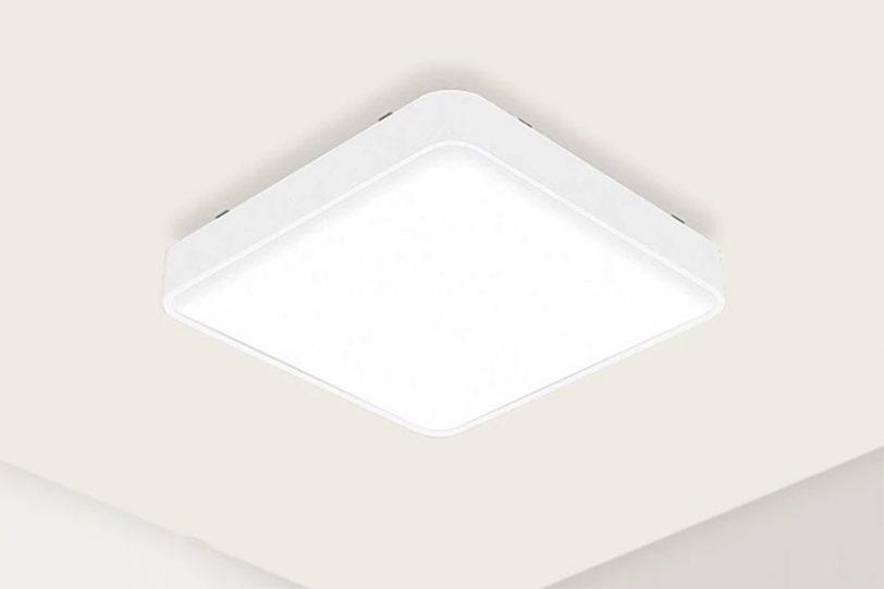 תאורת תקרה מרובעת Yeelight (תמונה: Yeelight)