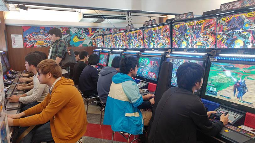 משחקי ארקייד ביפן