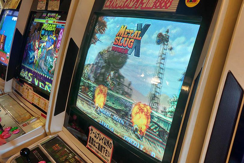משחק ארקייד מטאל סלאג ביפן