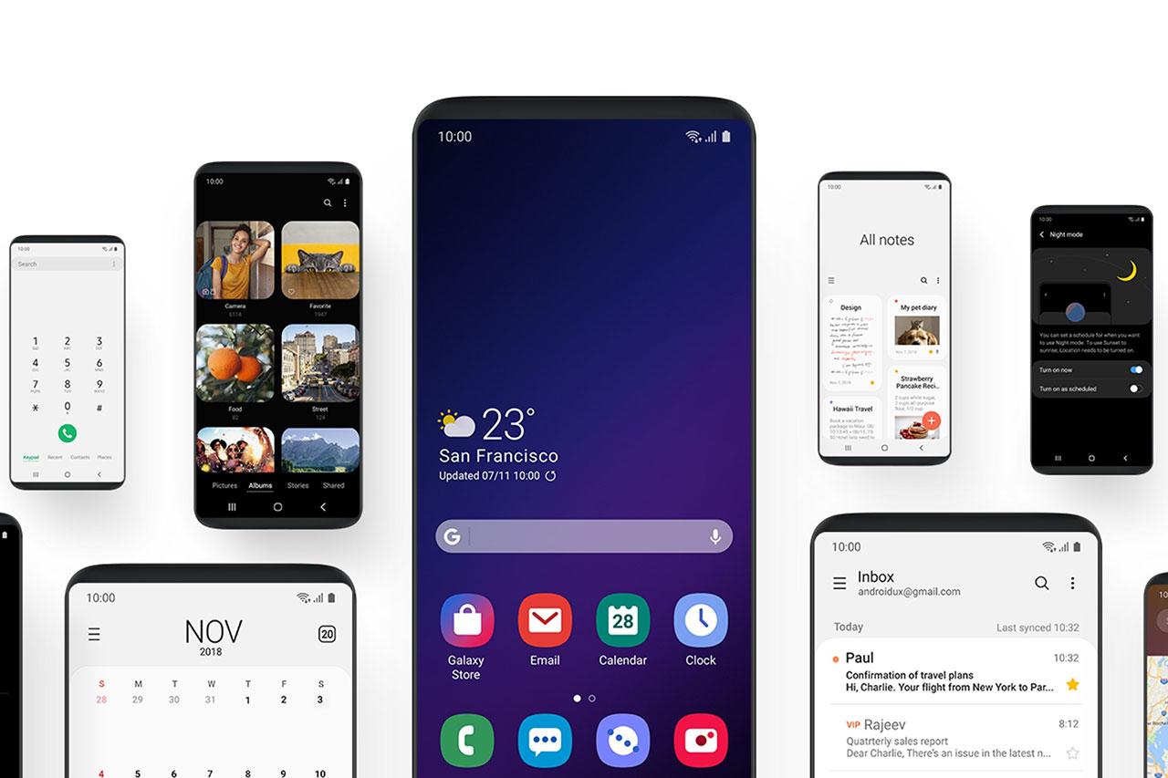 ממשק המשתמש OneUI (תמונה: Samsung)