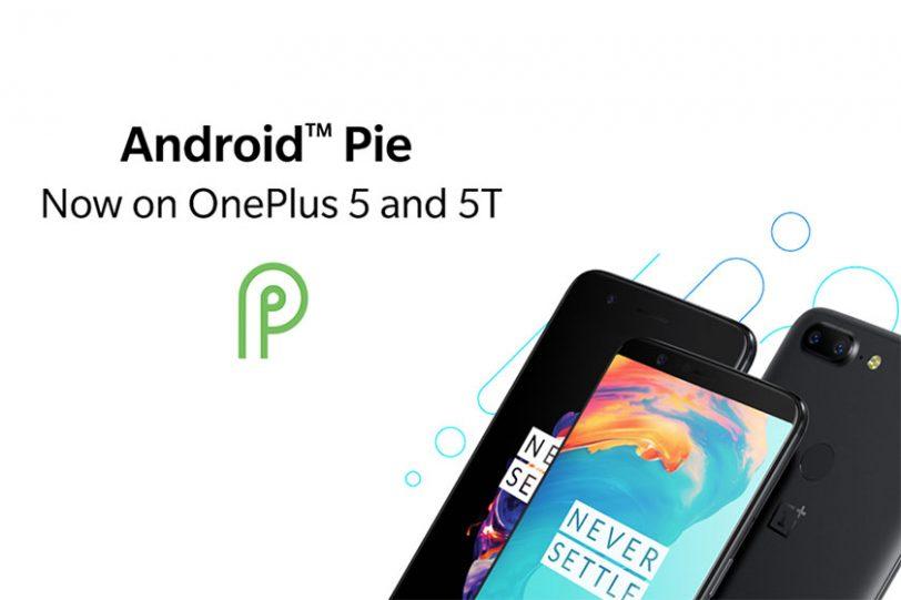 עדכון אנדרואיד 9 ל-OnePlus 5