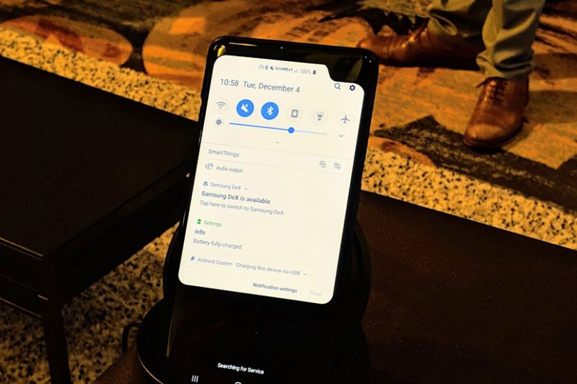 מכשיר ניסיוני מבית סמסונג התומך ברשת הדור החמישי (תמונה: gizchina)