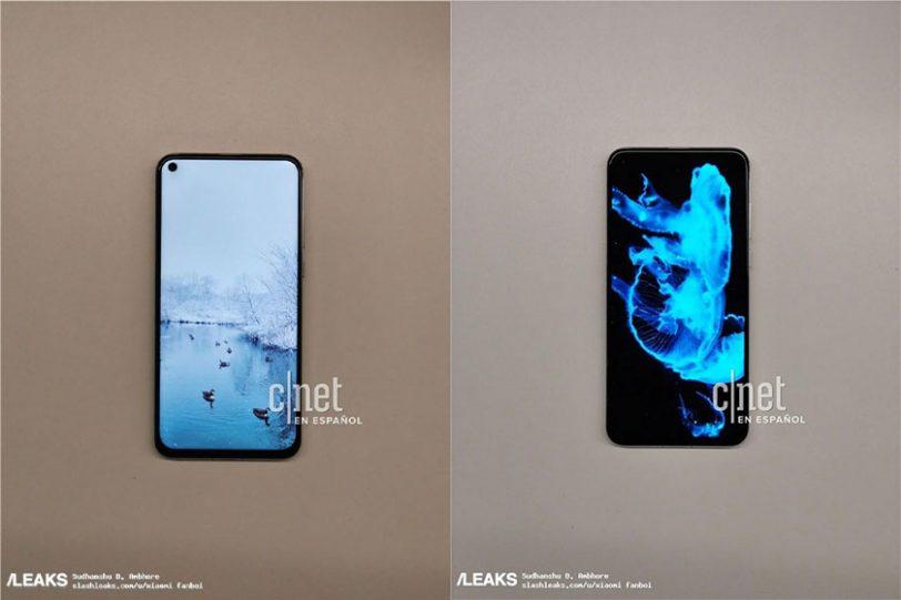 Huawei Nova 4 (תמונה: SlashLeaks)