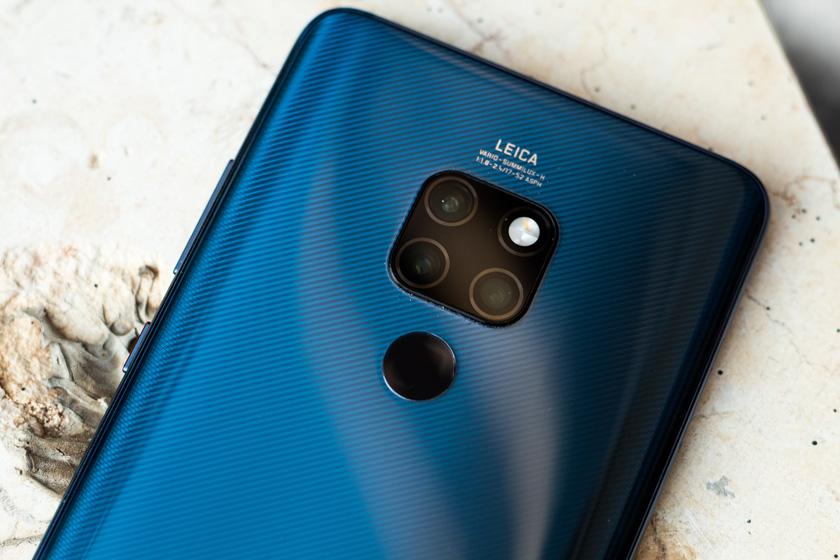 Huawei Mate 20 (צילום: אופק ביטון, גאדג'טי)