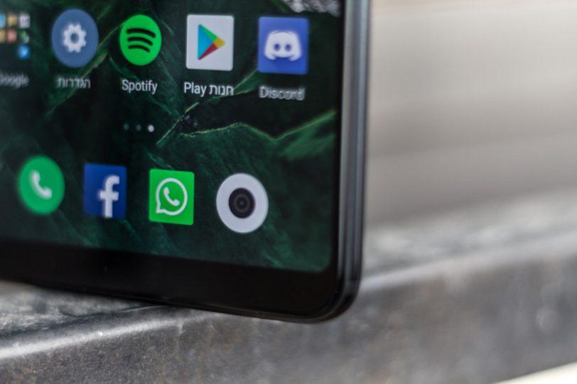 Xiaomi Mi Max 3 (צילום: אופק ביטון, גאדג'טי)