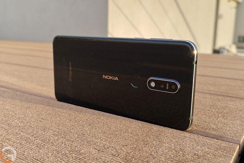 Nokia 7.1 (צילום: רונן מנדזיצקי, גאדג'טי)