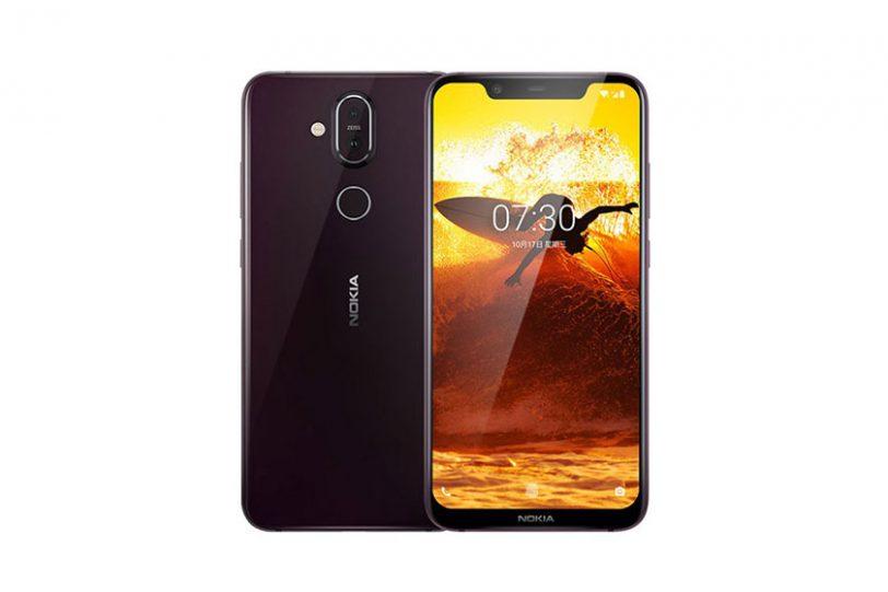 Nokia 8.1 (תמונה: HMD Global)
