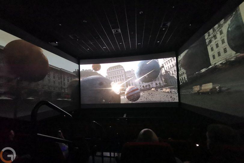 ScreenX ב-Yes Planet (צילום: רונן מנדזיצקי, גאדג'טי)