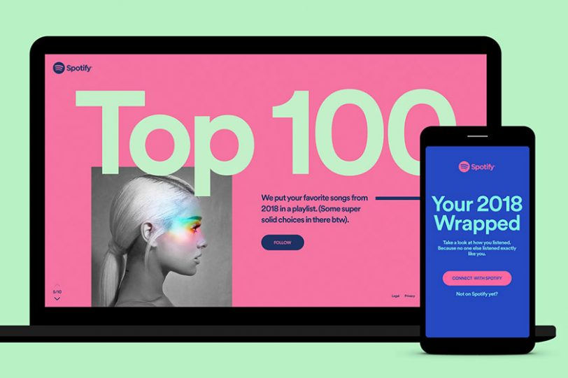 "Spotify Wrapped (תמונה: יח""צ ספוטיפיי)"