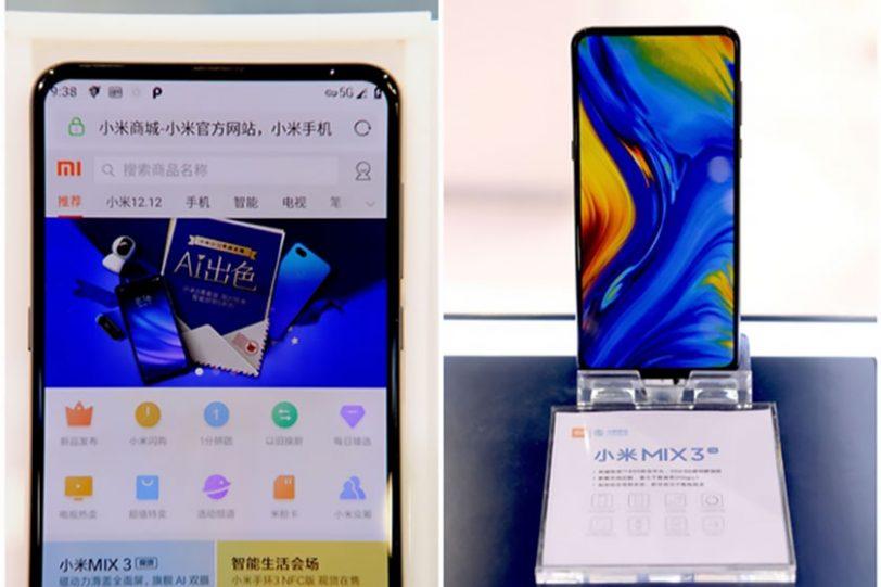 Xiaomi Mi Mix 3 5G (תמונה: Gizchina)