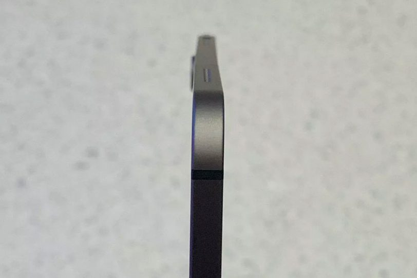 iPad Pro עקום (תמונה: TheVerge)