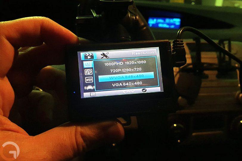 מצלמת רכב Alfawise G70 (צילום: רונן מנדזיצקי, גאדג'טי)