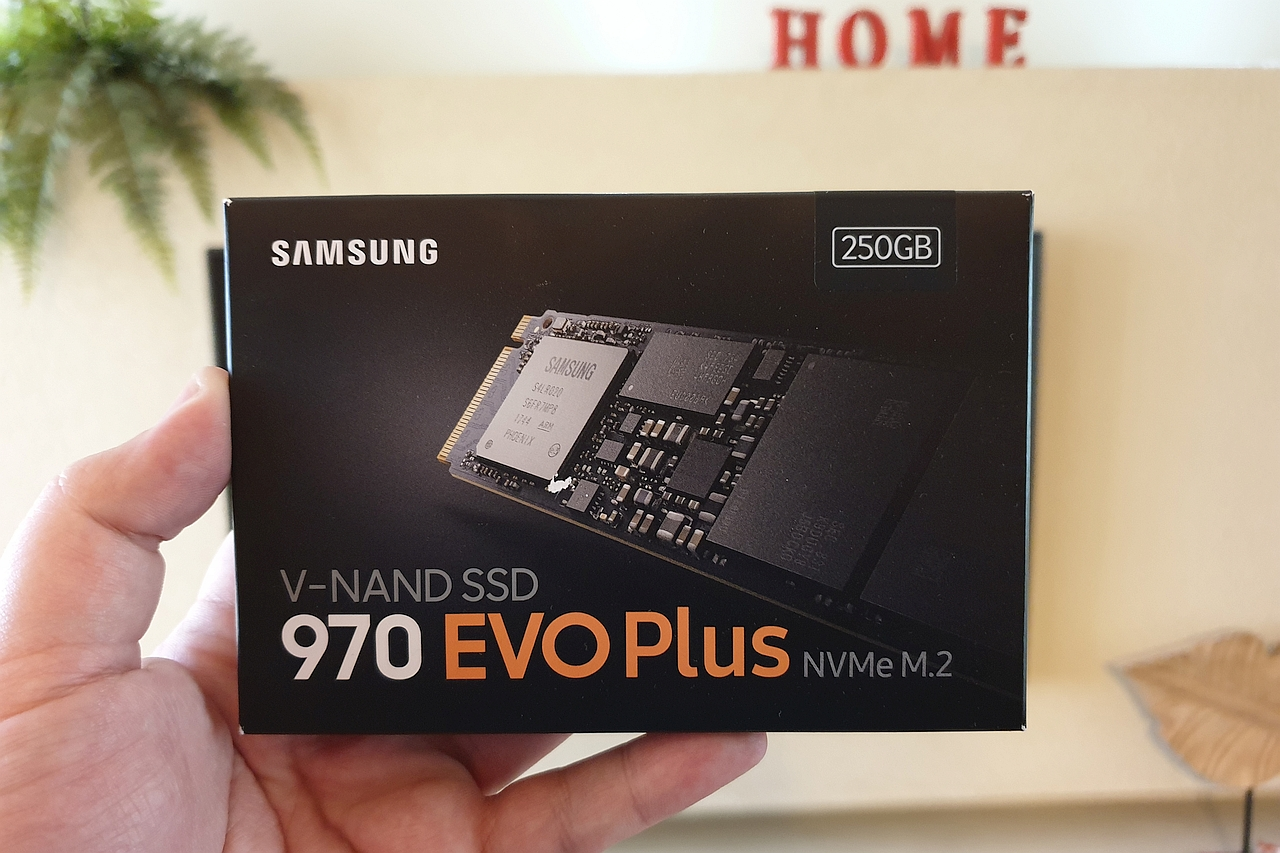 כונן SSD EVO 970 Plus (צילום יאן לנגרמן)