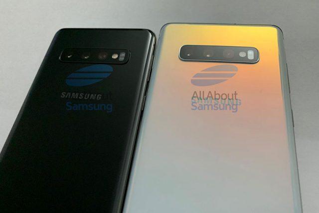 Galaxy S10 ו-Galaxy S10 Plus (תמונה: allaboutsamsung)
