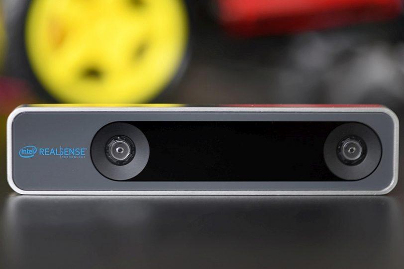 מצלמת RealSense T265 (מקור אינטל)