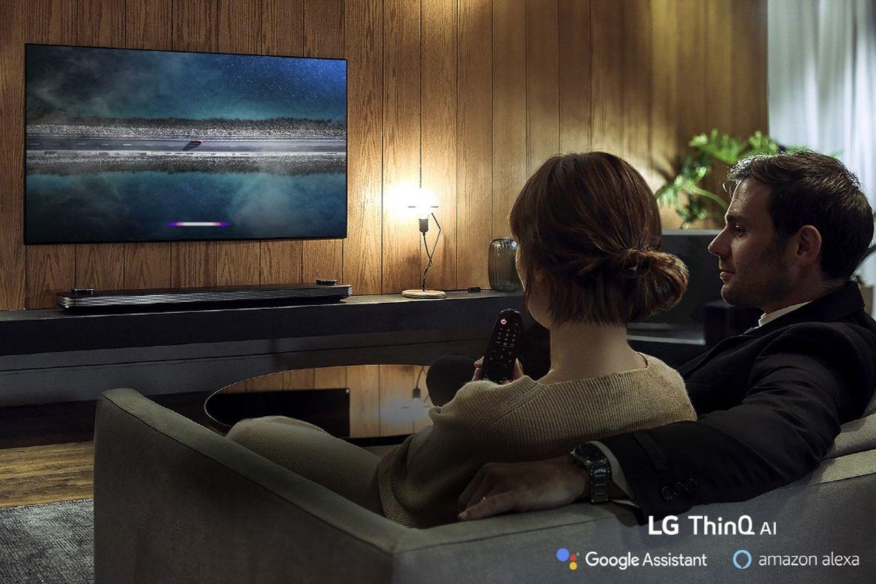טלוויזיות חכמות LG עם ThinQ AI (מקור LG)