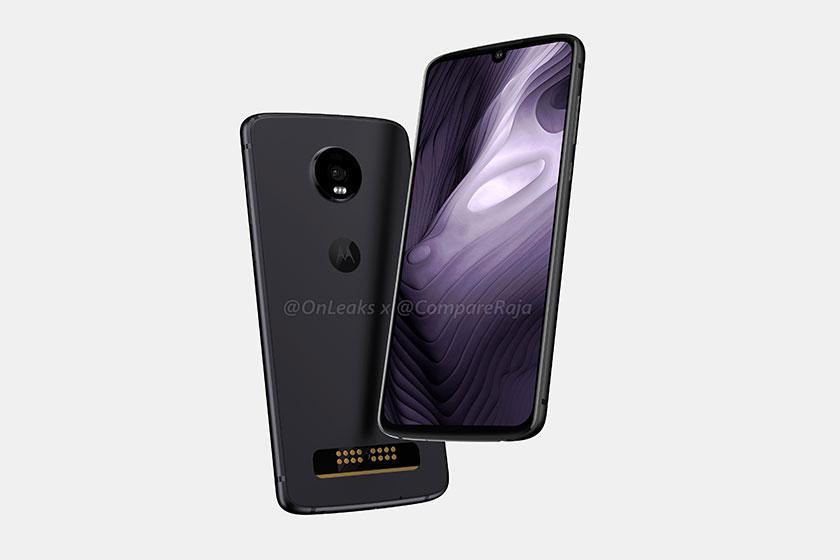 Motorola Moto Z4 Play (תמונה: compareraja)