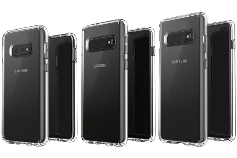 סדרת ה-Galaxy S10 (תמונה: Evleaks/Twitter)