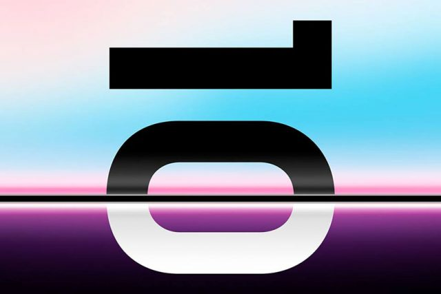 סדרת ה-Galaxy S10 נחשפת בתמונה חדשה