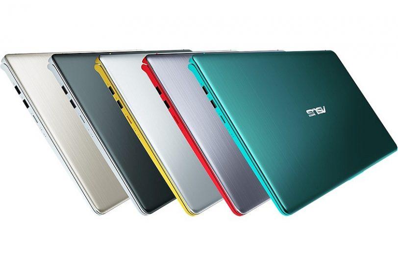 אפשרויות הצבע של VivoBook S (מקור אסוס)