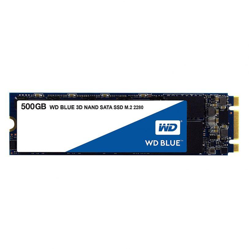 דיסק קשיח WD Blue 3D NAND 500GB SSD M.2