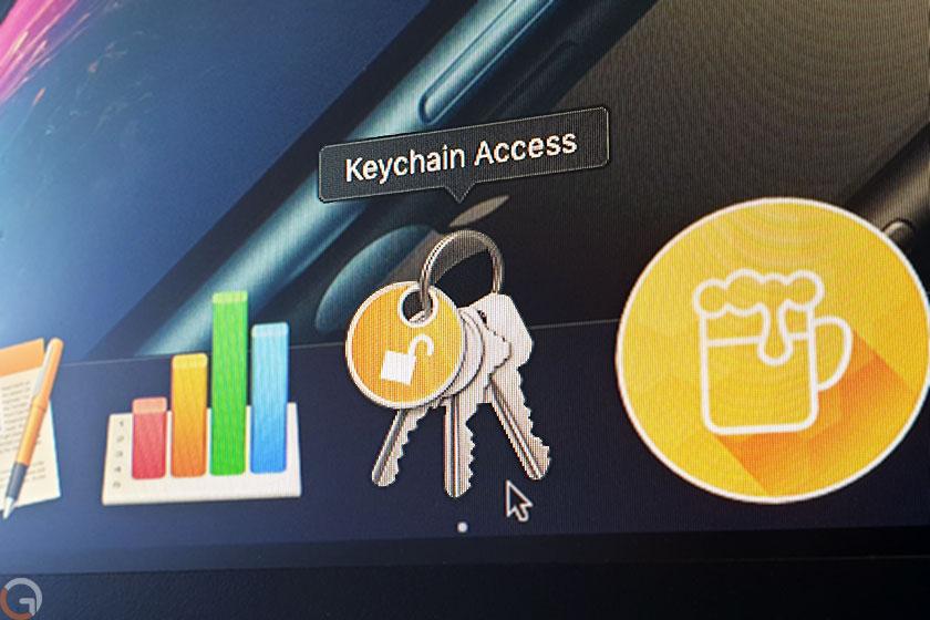 Apple Keychain (צילום: רונן מנדזיצקי, גאדג'טי)