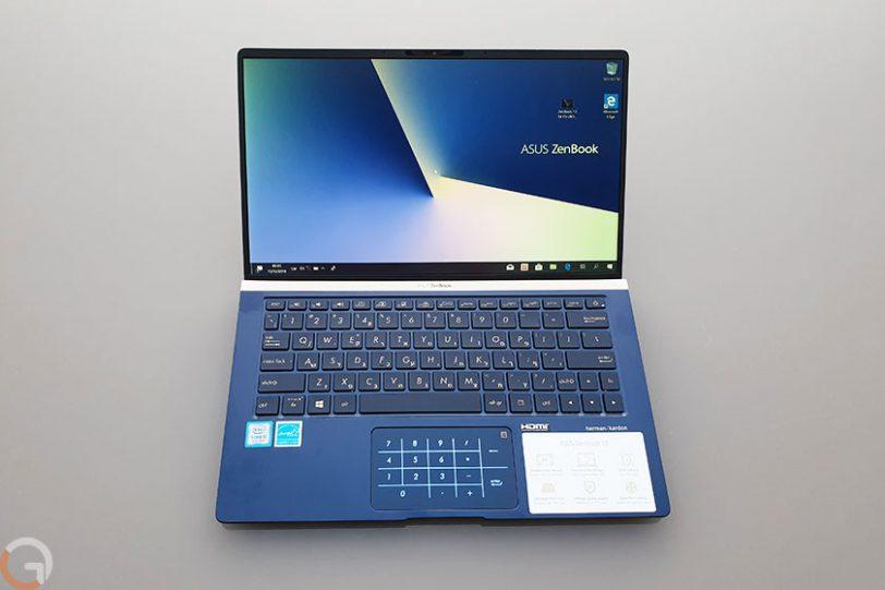 מחשב נייד Asus Zenbook 13 UX333FA-A3068T (צילום: רונן מנדזיצקי)