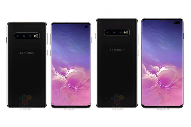 Samsung Galaxy S10 ו-S10 Plus (הדלפה)
