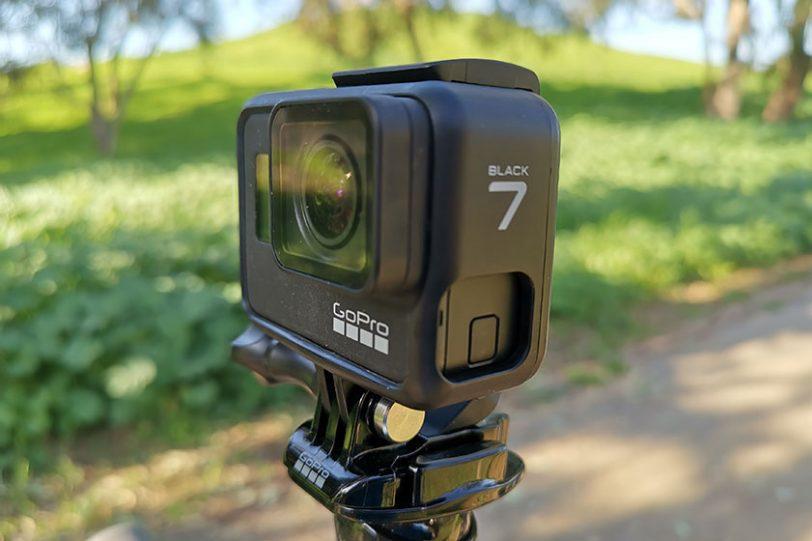 GoPro Hero 7 Black (צילום: צחי הופמן)
