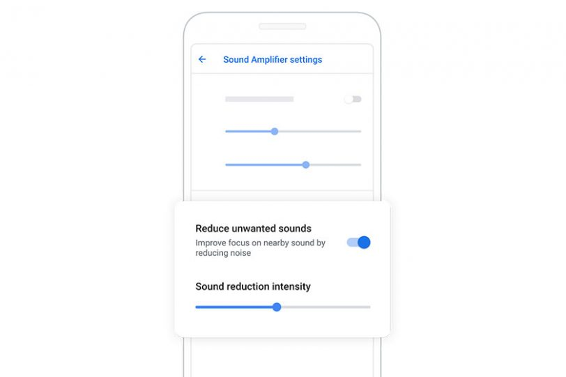 Google Sound Amplifier (תמונה: גוגל)