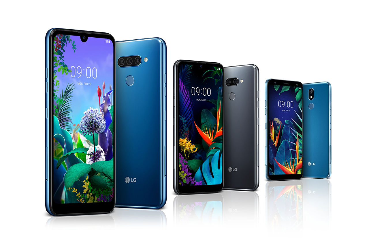 LG Q60, LG K50 ו-LG K40 (תמונה: LG)