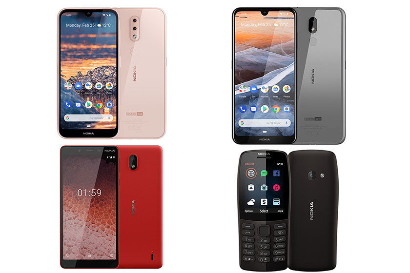 Nokia Lineup (תמונות: נוקיה)