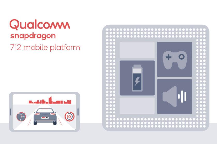 Qualcomm Snapdragon 712 (תמונה: קוואלקום)