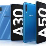 Galaxy A30 & Galaxy A50 (תמונה: סמסונג)