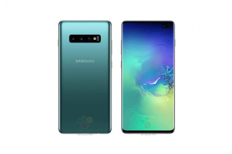 Samsung Galaxy S10 Plus (הדלפה)