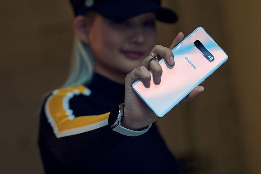 Samsung Galaxy S10 (תמונה: סמסונג)